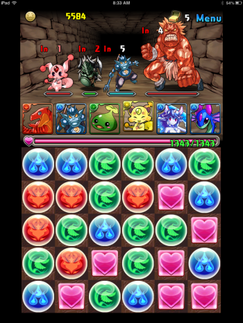 Puzzle And Dragons