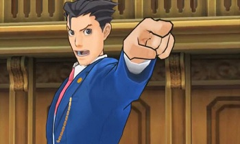 Ace Attorney 5 Screenshot