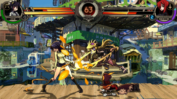 Skullgirls - fight scene
