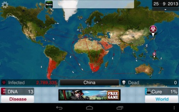 Plague Inc. Screen 01