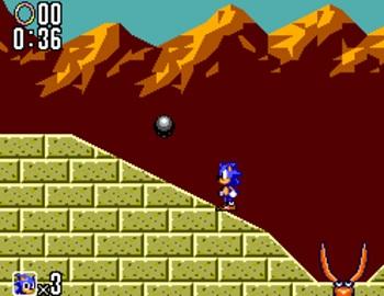 Sonic 2 Pincer Boss