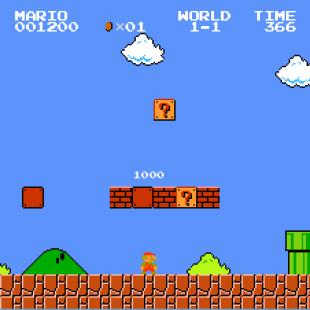 Super Mario Bros 350px