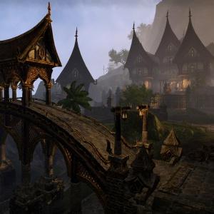 The Elder Scrolls Online - Khajiit Town Pic
