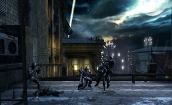 Batman Arkham Origins Blackgate Screen