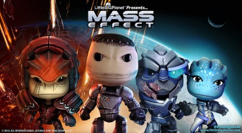LittleBigPlanet 2 Mass Effect DLC