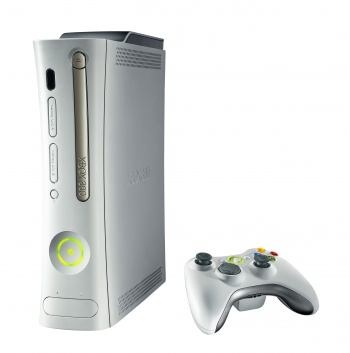 Xbox 360 and controller