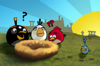 Angry Birds Story Screen