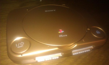 Sony golden playstation one for notch