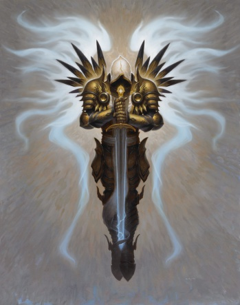 Diablo III - Tyrael concept art