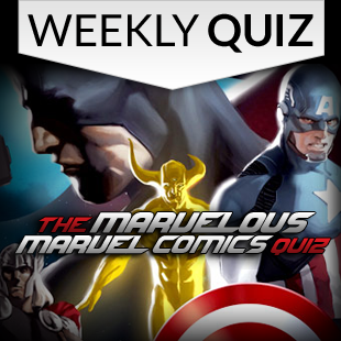 Marvelous Marvel Comics Quiz 3x3