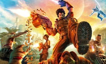 Bulletstorm promotional artwork