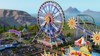 simcity amusment park dlc screenshot