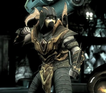 Injustice: Gods Among Us - Scorpion DLC character