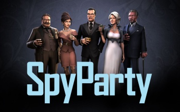 (1) SpyParty redesign - all characters