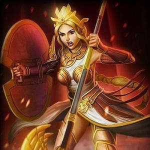 smite athena goddess