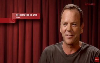 Kiefer Sutherland Snake Reveal