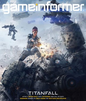 Game Informer Titanfall cover