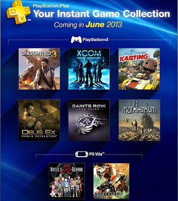 PlayStation Plus June 2013