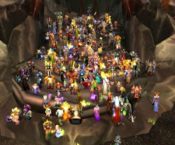 World of Warcraft raid group
