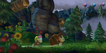 dixie kong in donkey kong country tropical freeze