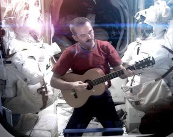Chris Hadfield Space Oddity
