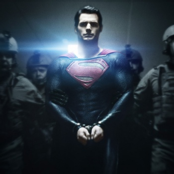 Man of Steel promo art