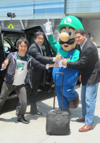 iwata miyamoto reggie and luigi
