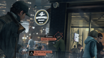 Watch Dogs hacking multiplayer screen