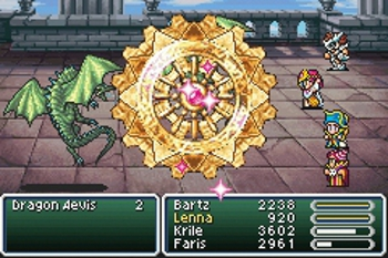 square pumping up final fantasy v for psn release the escapist