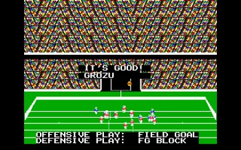 John Madden Football screen