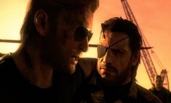 Metal Gear Solid V Screen