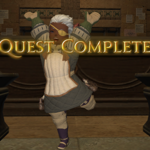 Quest Complete Joy 300