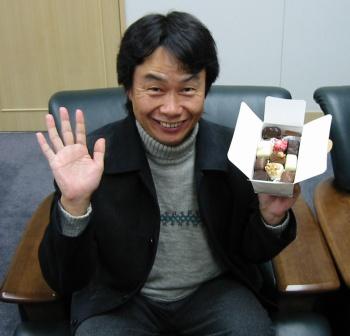 Shigery Miyamoto with a bento box