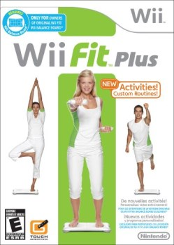 Wii Fit Plus box