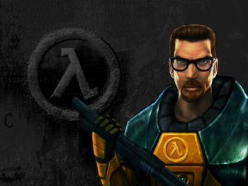 Half-Life promotional image (Gordon Freeman)