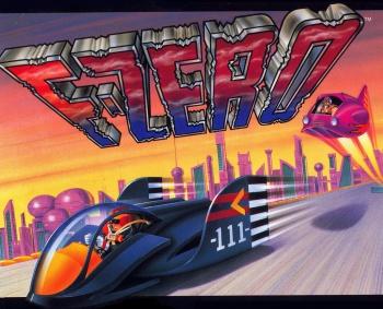 F-Zero SNES promo art