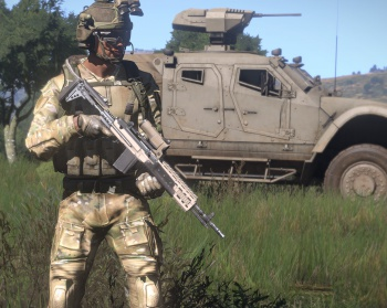 ArmA III alpha screenshot