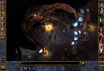 Baldur's Gate Enhanced Edition Screen