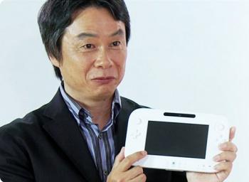 Shigeru Miyamoto Wii U