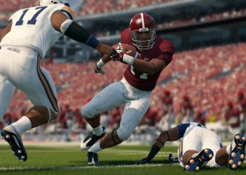 NCAA Football 14 screen