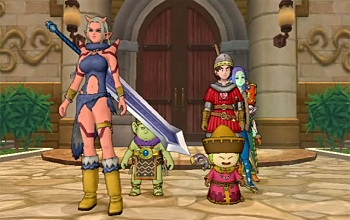 Dragon Quest X Screen