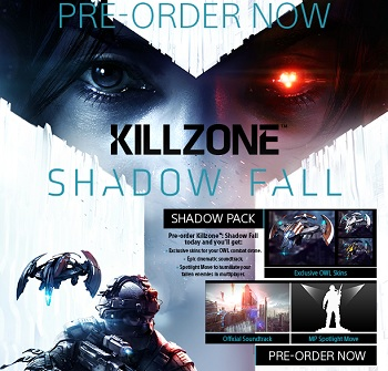 Killzone Shadow Fall Pre-Order
