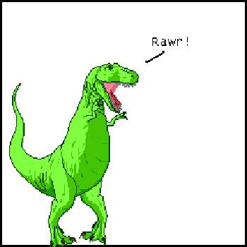 Dinosaur Comics (T. Rex)