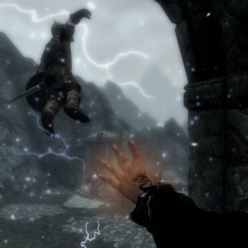 skyrim mod gifts of the outsider screenshot