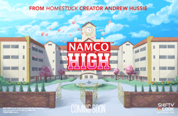 Namco High reveal art