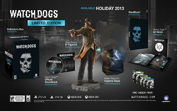 Watch Dogs Limited Edition Pack