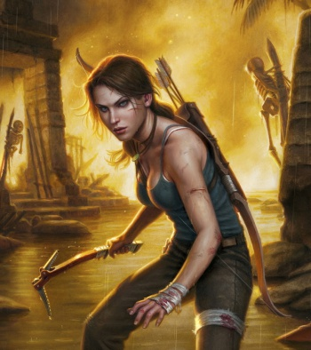 Tomb Raider comic image