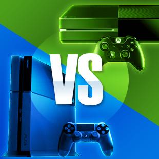 Xbox One versus PS4
