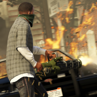 Grand Theft Auto V screen