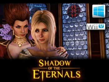 Shadow of the Eternals title screen